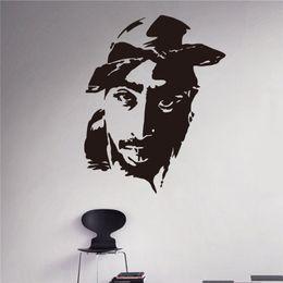 Wholesale Modern Art Interior - Vinyl Wall Stickers Pataci Amakshake Racer Hip Hop Design House Interior Wall Decorations DIY