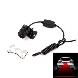 12v levou a luz de traço âmbar Desconto 12 V / 24 V Car LED Laser Anti Colisão Lâmpadas de Nevoeiro Car Styling Car LED Fonte de Luz Acessórios