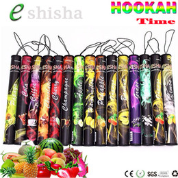 Wholesale E Hookah Smoke - ShiSha Time E Hookah 500 Puffs Pipe Pen Electronic Cigarette Smoking Pipes Stick Sticks Shisha Hookah disposable e cigarette