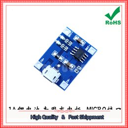 Wholesale Lithium Battery Charging Board - Free Shipping 5pcs 1A lithium battery dedicated charging board charging module lithium battery charger MICRO interface (H6A3)