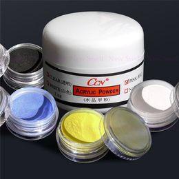Wholesale Pink Crystal Polymer Powder Acrylic - Wholesale- Nail Kit Pink Crystal+ 4 color Acrylic Nail Art Polymer Powder