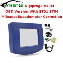 Wholesale Digiprog Cable - Wholesale- Latest OBD Version Digiprog 3 V4.94 With OBD2 ST01 ST04 Cable Digiprog III Digiprog3 OBDii 4.94 Odometer Mileage Programmer
