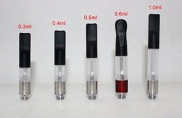 Wholesale Atomizer Cartridges - CE3 Bud Cartridge Vaporizer WAX Oil Atomizer 510 Cartridge O Pen CE3 Vapor Thick Waxy Smoking Mini Tank