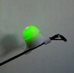 2019 la luce del morso All'ingrosso-1pc protable LED Night Fishing Rod Punta Clip Bite Alert luce allarme pesca all'aperto luce sconti la luce del morso