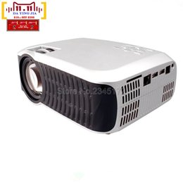 Wholesale Video Camera Business - Wholesale-free shipping original T22 mini WIFI Projector Full HD 1080P Home theater projecting camera LED video home Multimedia T22