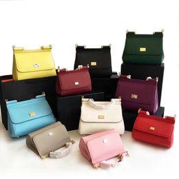 Wholesale D Handbags - New leather handbag leather palm print Sicily D leisure all-match Shoulder Messenger Bag G
