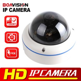 Wholesale Wireless Color Cmos Camera - HD 1080P Starlight IP Camera POE 2MP Outdoor Dome Onvif,Low Lux Day Night Color,360 Degrees Wide Angle P2P