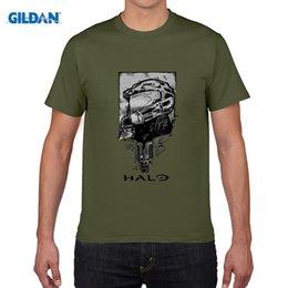 Wholesale Halo Master - HALO T shirts Men Game 2016 Master Chief 3D Printed short sleeve t-shirt anime t shirts camisa masculina plus size 4XL