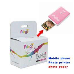 Wholesale Printer Sheets - Professional Photo Paper Hiti Pringo Zink Pocket Photo Paper Smart Mobile Printer Paper For P231 30 Sheets   lot Free Shipping