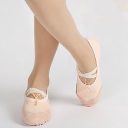 semelles planes pvc Promotion Enfants ballerines à semelle souple orteil chaussures garçons girsl chaussures de ballet pratique chaussures de danse pour bébé enfants juniors 3-16T