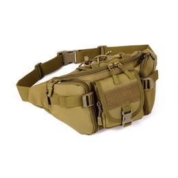 Wholesale Tactical Climbing Pack - Outdoor Military Men Tactical Waist Pack Bags Waterproof Waist Bag Fanny Belt Climbing Bum Bag Military Equipment Outdoor Bags