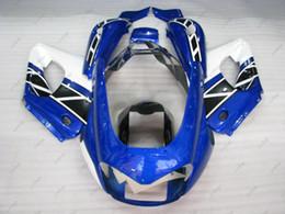Wholesale Yzf Thunderace - ABS Fairing YZF 1000R 06 07 Full Body Kits Thunderace 04 05 Blue White Plastic Fairings YZF1000R 02 03 1997 - 2007