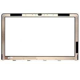 Wholesale Imac Screen - For iMac 21.5'' MC508 MC509 MB413 A1311 MC813 MC510 a1312 LCD Front Outer glass screen glass lens replacement parts free DHL
