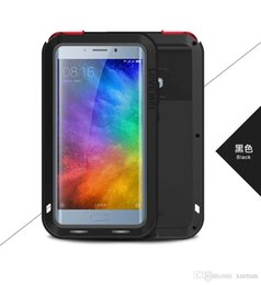 Wholesale Note2 Glass White - LOVE MEI Powerfull Drop resistance Corning gorilla glass+Aluminum Metal Armor case for xiaomi note2