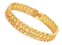 ouro amarelo nobre encheu a pulseira de homens 168gf de Fornecedores de grossista pulseiras de plástico zíper