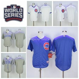 Wholesale Stitch Pins - 2017 New Mens,Womens,Kids Chicago Cubs Jerseys Blank White,Blue,Pink, pins Ivory Throwback Baseball Jersey 100% Embroidery And Stitched 1500