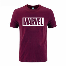 Wholesale Mens Captain Costume - 2017 New Fashion Summer Mens CAPTAIN AMERICA Costume Short Sleeve Camisetas Fitness Super Heroes Marvel T Shirt DIY-0124D