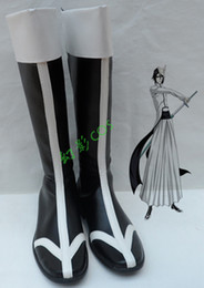 Wholesale Bleach Anime Shoes - Wholesale- anime Bleach Ulquiorra Cifer cosplay boots cosplay shoes