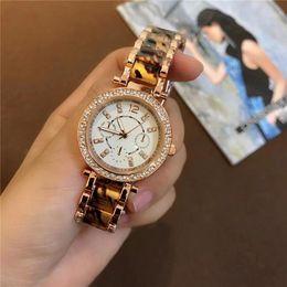 Wholesale Crystal Clocks - High-quality Luxury Crystal Rhinestones Diamond inlay Clock dial Woman Quartz Watches Fashion Stainless Steel Quartz Watches wholesale