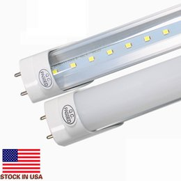 Wholesale Daylight Led Tube Lamp - 22W Daylight 5000K T8 4FT 1.2m Led Tubes Light 2100 Lumens 2835 SMD Led Fluorescent Lamp AC 85-265V + CE UL