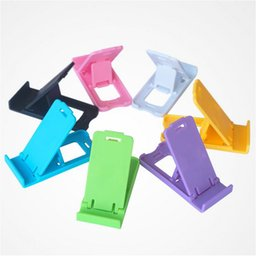 Wholesale Cheapest Foldable Phone - Wholesale-2016new hot Universal Cheapest Adjustable Foldable Holder Stand For Tablet PC Smart Phone