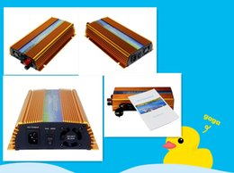 Wholesale Micro Grid Inverter - 1000W Grid Tie Inverter MPPT Function, 20-40VDC Input to 110V 220VAC Pure Sine Wave Output Micro on grid tie inverter 1000W