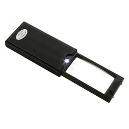 Wholesale Loupe Magnifying Glass Illuminated - Wholesale-Cymii 2.5x 45x Pullout Illuminated LED Jeweler Eye Loupe Magnifying Glass Magnifier Watch Repair Tool