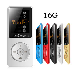 Wholesale Mp3 Books - Wholesale- 16GB MP3 Music Player Built-in Speaker with 1.8 Inch Screen FM Radio Voice Recorder Multifunctional Media Player