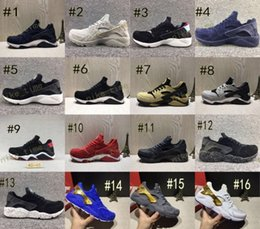 Wholesale Royal Stores - 2017 Best Air Huarache Premium Shoes High Qualiry Mens Hurache Ultra Shoes Leather Huaraches Sneakers Trainers Harache Running Shoes Store