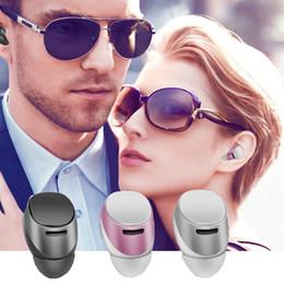 2019 bluetooth csr chip Портативный S630 Mini7 CSR Чип-невидимая беспроводная Bluetooth-гарнитура Hands-Free In-Ear Bluetooth-наушники Наушники Наушники для IPhone 7 EAR222 дешево bluetooth csr chip