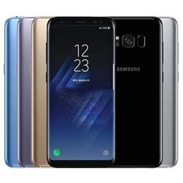 2019 дюймовый android-телефон 3g android 4.2 Оригинальный Samsung Galaxy S8 Восстановленное G950F G950U 5,8 дюйма окта Ядро 4 Гб RAM 64GB ROM 4G LTE Android смартфон Бесплатная доставка DHL 1PC