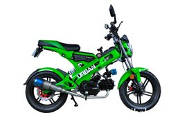 Wholesale Ce Cheap Certificate - 125cc portable mini bike foldable popular manufacturer with CE certificate cheap scooter electric start with disc brake motorcycle