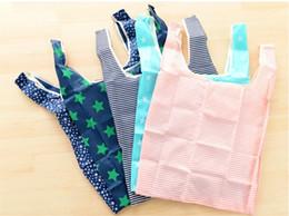 Canada Personnalisé han édition main créative recevoir sac polyester pliant sac à provisions de protection de l'environnement sac imperméable à l'eau Offre
