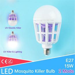 E27 LED Sivrisinek Katili Lambası Ampul UV Elektrikli Tuzak Işık Elektronik Anti Böcek Bug Wasp Haşere Fly Açık Kapalı Sera cheap greenhouse light bulbs nereden sera ampulleri tedarikçiler