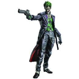 """Wholesale Action Figure Play Arts - THE JOKER PLAY ARTS KAI ARKHAM ORIGINS Square Enix 10"""" BATMAN NO.4 action figure"""
