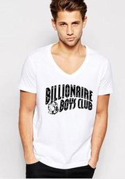 Wholesale Club Organic - T Shirt Men Billionaire Boys Club BBC yellow blue logo free shipping male t-shirts blous hip hop clothes summer tees tops