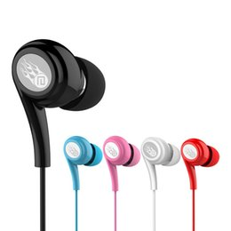 Wholesale Mp3 Run - Langsdom JD91 Colorful 3.5mm In-ear Earphone Headset Super Bass Earbuds for Running with Mic for Mobile Phone free shipping