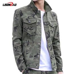 Marcas de roupas militares on-line-Mens jaquetas de grife jaqueta militar homens casaco jaqueta verde do exército dos homens camuflagem jaqueta casual marca clothing plus size 3xl casacos