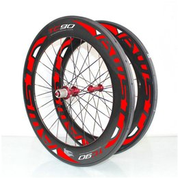 Wholesale Cheap Bicycle Carbon Wheels - AWST carbon wheels road bike 88mm 700C clincher 23mm Width powerway hubas Racing Bicycle Road Bike cheap Carbon Wheels