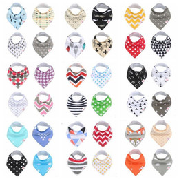 Baby Bibs Burp Cloths Infant INS Triangle Saliva Bavoir Towels Newborn Fox Fashion Turban Cotton Cartoon Bandana Head Scarf Kerchiefs B3578 Coupon