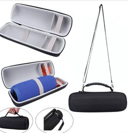Wholesale Carry Bag Holder - EVA Carrying Storage Case Pouch Bag Cover Portable Zipper Carry Box Holder For Charge 3 Bluetooth Wireless Speaker Wholesale