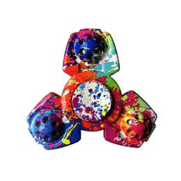 nuevo matte trispinner fidget juguetes de plstico edc spinner mano para el autismo y el tiempo de rotacin de adhd tiempo anti stress juguetes