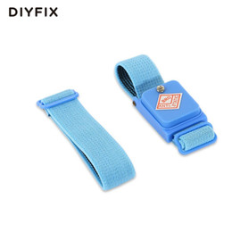 Wholesale Esd Straps - 100pcs Cordless Wireless Clip Antistatic Anti Static ESD Wristband Wrist Strap Discharge Cables For Electrician IC PLCC worker