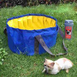 Wholesale Soft Bathtub - High Quality Foldable PVC + Oxford Pet Bathing Tub Dog Cat Portable Swimming Pool Bathtub Dog Cats Washer Easy Carrying