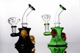 Wholesale Turtle Oil - New Arrival cute Water Bongs High Quality Oil Rigs Glass Bongs Thick Glass bong with colorful turtles Free Shipping