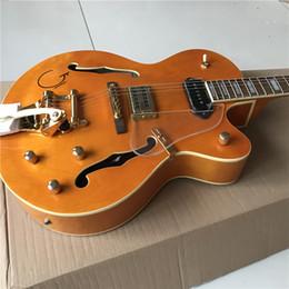 Bonne guitare chinoise boutique personnalisée guitare guitares électriques personnalisées, orange double tambour, belle, peut être beaucoup de coutume, comme des photos ? partir de fabricateur