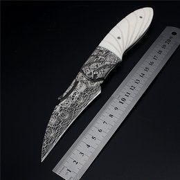 Wholesale Fishing Cutters - 2018 New Hot Sale Popular Outdoor Tactical Folding Knife Self-defense Wilderness Survival Camping Pocket Fruit High Hardness Paw Cutter