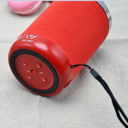Wholesale Branded Usb Cards - Top Bluetooth Speakers Daniu Brand 3W WSA-8617 New Fabric Nini Bluetooth Speaker Private Model Portable Wireless Speakers