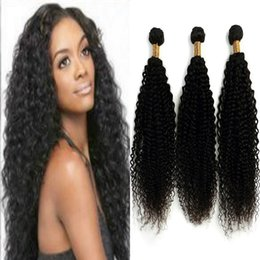 Wholesale Longest Weave Hair - Indian Human Hair Extensions 10-28 Inch Clip in Hair Extensions 8A Grade Silky Long Curly Wave Hair for Women 3 Pcs Package Set
