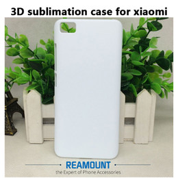 Wholesale custom armbands - 3D DIY Custom PC Sublimation Case for Redmi Note 2 Note 3 Note 4 for Xiaomi 5s 5s plus White Matte and Smooth Case with Aluminium Plates